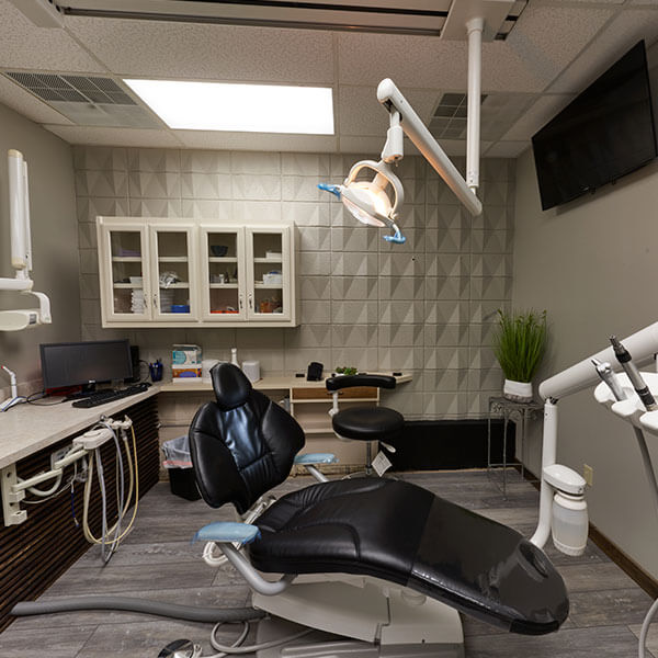The Spartan Family Dentistry surgery room